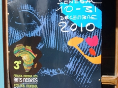 Poster for the Black Arts and Cultures World Festival