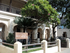 Exterior of Lamu Museum