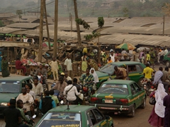 Afternoon traffic madness in Abeokuta