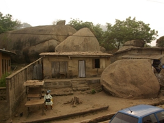 Massive boulders in your yard? Not a problem for this Abeokuta resident