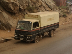 Nigerians love their beer! We saw numerous trucks overladen with various types of beer throughout the entire country