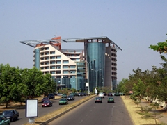 Abuja is a relatively new capital (established in 1981) as evidenced by its large, modern buildings, wide boulevards, and impeccably clean streets