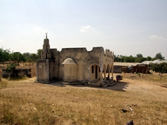 Small, neighborhood mosques such as this one dot the Nigerian landscape