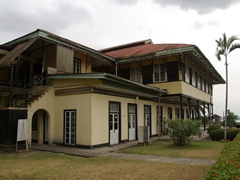 View of the Calabar Museum, housed in the Old Governor's house which is the former residence of the Colonial Governor