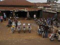 Motorcycle repair shop; Ikom