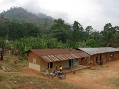 Katabang village scene