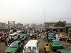 Chaotic traffic; Abeokuta