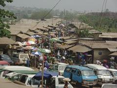 Street market; Ogbomosho
