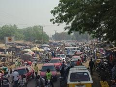 Bida's lively street scene