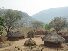 Another view of a traditional Nigerian village