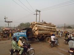Bustling scene in Abeokuta