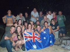 Another group shot photo as we celebrated Aussie Day