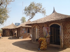 The Abuja Craft Village is a no-hassle place to leisurely shop for souvenirs