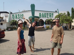 Our favorite hangout in Abuja, the excellent Oasis Bakery!