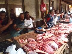 Ikom meat market