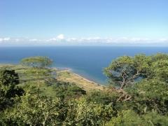 View of the pristine Lake Malawi