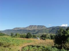 Stunning views of hilly ranges surrounding Lake Malawi