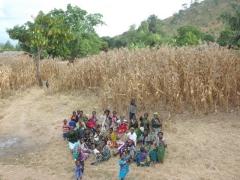 Friendly Malawians saying hello