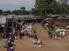 Market day at a village on Lake Malawi