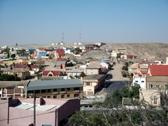View of Luderitz from the Goerke House