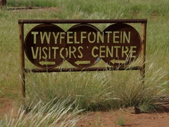Signpost for Twyfelfontein