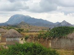 We found the mountain ranges that dominate the landscape in the countryside to be quite picturesque