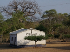 Christianity seems to be the dominant religion in Mozambique as dozens of churches are seen throughout the countryside