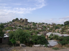 A well developed village is one with more than a hundred dwellings (they were few and far between in the Mozambique countryside)