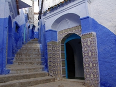 Wandering through the medina of Chefchaouen is a delight, with few touts and friendly, welcoming locals