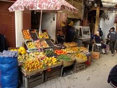 Fruit stall, Fes medina