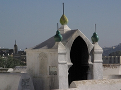 Jewish cemetery in the mellah; Fes el-Jdid