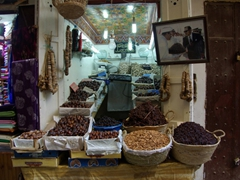 Dates for sale; Fes medina
