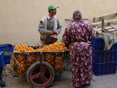 Fes fruit vendor