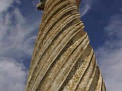Roman column; Volubilis