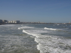 View of the Atlantic Ocean; Casablanca