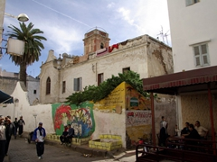 Remnants of an old church; Casablanca