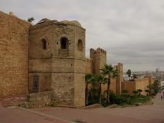 Rabat's impressive medina wall