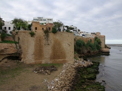 Dating from the 17th century, the walled medina of Rabat sits high up on a bluff overlooking the Oued Bou Regreg