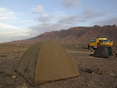 Our Atlas Mountains campsite