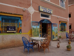 Cute restaurants abound in pretty Todra Gorge