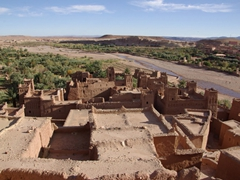 "The picturesque kasbah of Ait Benhaddou has been the stage for such films as ""Gladiator"", ""Lawrence of Arabia"" and ""Jesus of Nazareth"""
