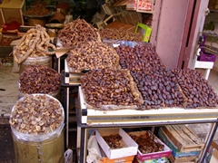 Yummy dates for sale; Marrakesh medina