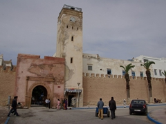 Essaouira's walled medina reached UNESCO world heritage status in 2001, and is a fine example of 18th century fortifications