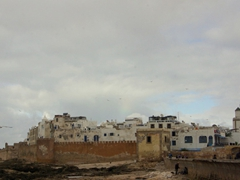 18th century fortifications surround the medina of Essaouira