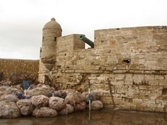 Another view of Essaouira's fortifications