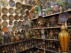 Beautiful ceramics for sale in Fes