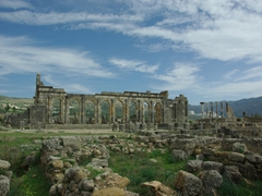 The Roman ruins of Volubilis were an unexpected highlight