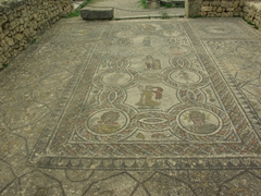Mosaics in Volubilis are well preserved