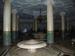 Ablution room of Hasan II mosque