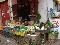 Casablanca vegetable stand